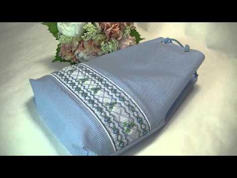 お受験プールバッグ 小学生学校スイミングバッグ シンプル刺繍プールバッグ 中が透けないプールバッグ スモッキング刺繍教室で作れるプールバッグ1499 #トレンド #Trend #followme