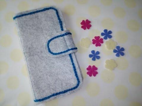 smartphone case フェルトでスマホケースを自作してみました 3/3 #トレンド #Trend #followme