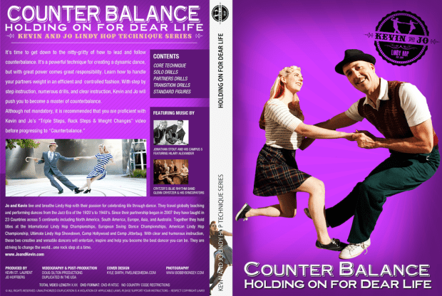Kevin & Jo Lindy Hop Counter Balance DVD