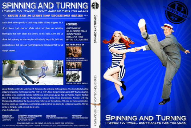 Kevin & Jo Lindy Hop - Spinning Turning DVD