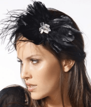 Feather & Flower Headband