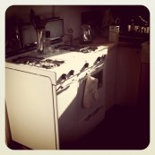 This is my favorite stove. I'll miss you.