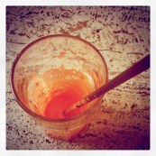 Carrot-Ginger Juice. Yum!!!