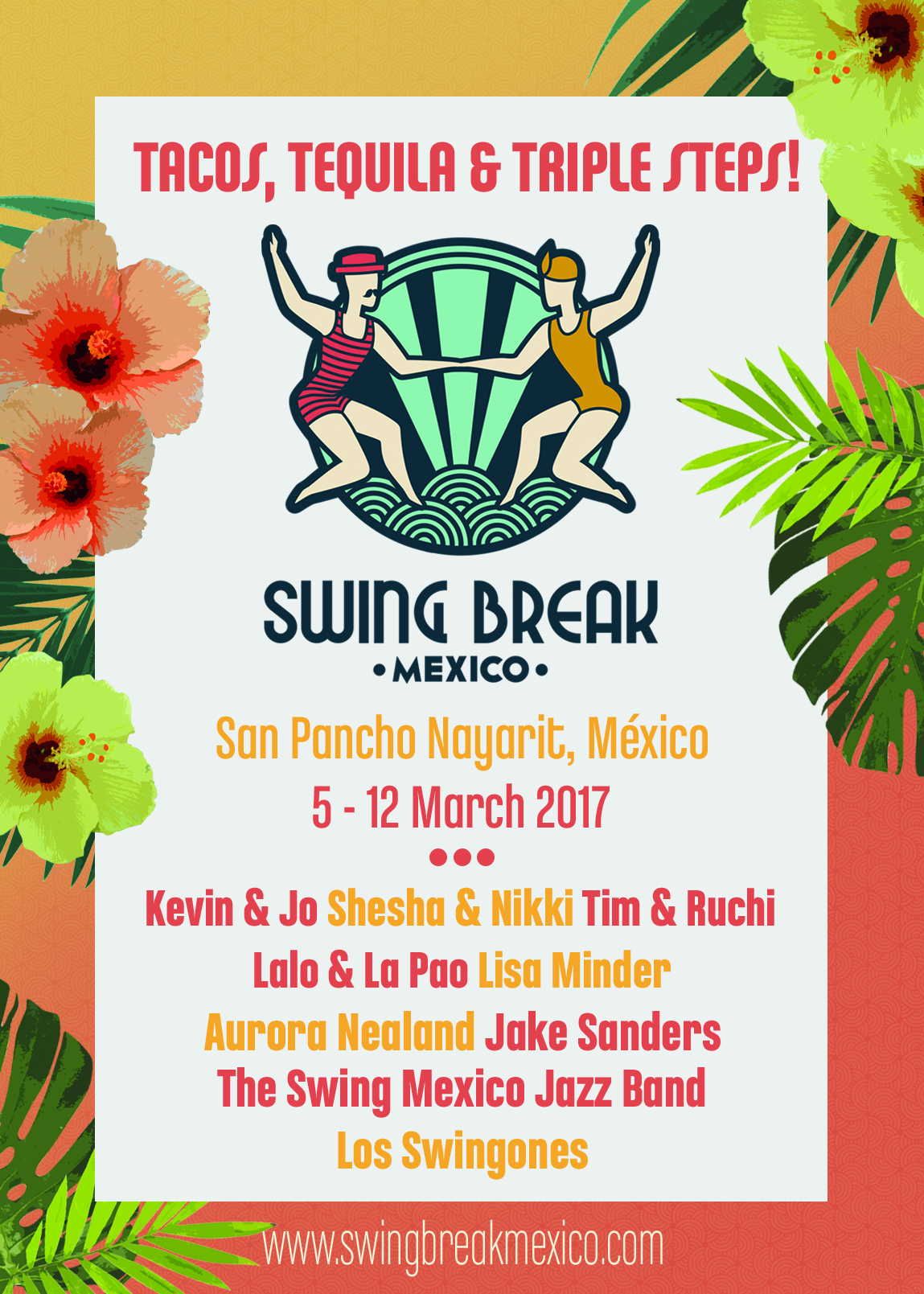 Swing Break Mexico feat. Lindy Tech, Paradise Edition