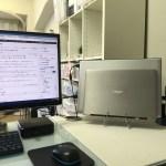Macの「クラムシェルモード」のように、WindowsノートPCを蓋を閉じた状態で大画面モニターに繋いで使用する