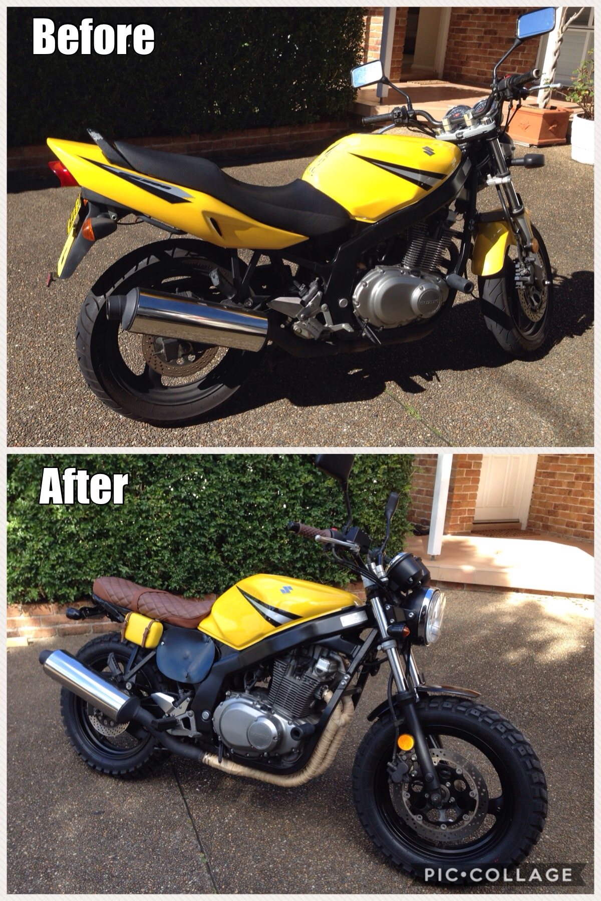 small resolution of suzuki gs500 fuse box wiring librarygs500 before and after the scrambler build