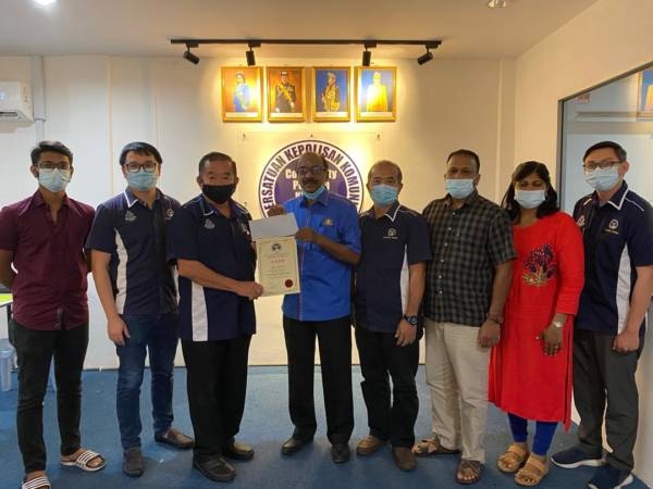 G.拉曼將助鑾人民社警 申請款項 充運作開銷   中國報 Johor China Press