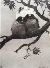 Henri Verstijnen, two sparrows, ca 1930-1935