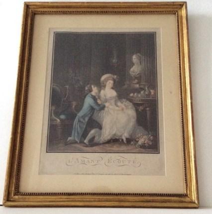 l' amant ecoute 1785, Bonnet