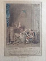 L' Occupation, after Freudenberg 1774, Lingee.