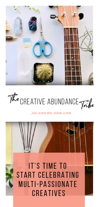 Are you a multi-passionate creative? If so, this post is just for you!