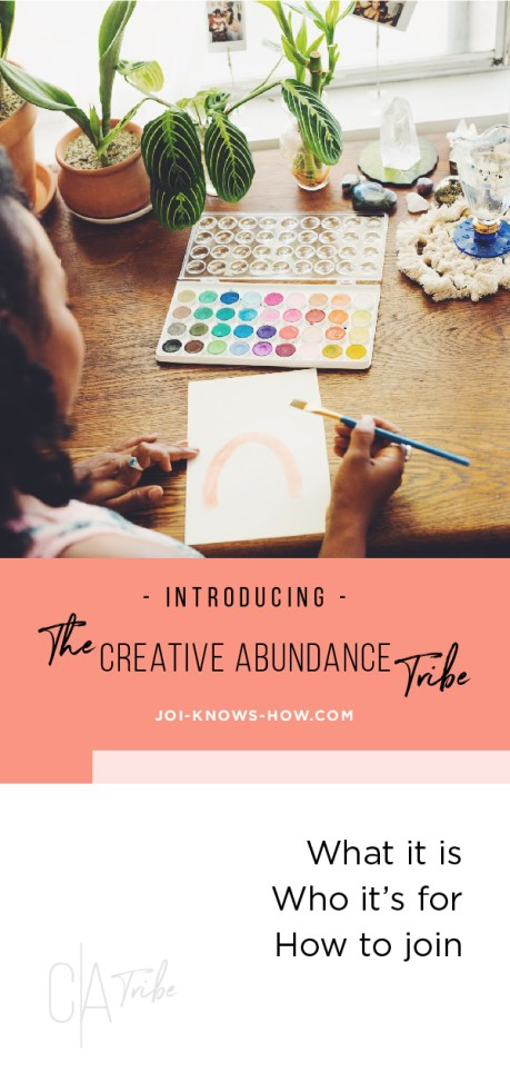Join the tribe created just for MULTI-PASSIONATE CREATIVES!