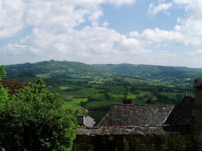 A view of the countryside around Turenne