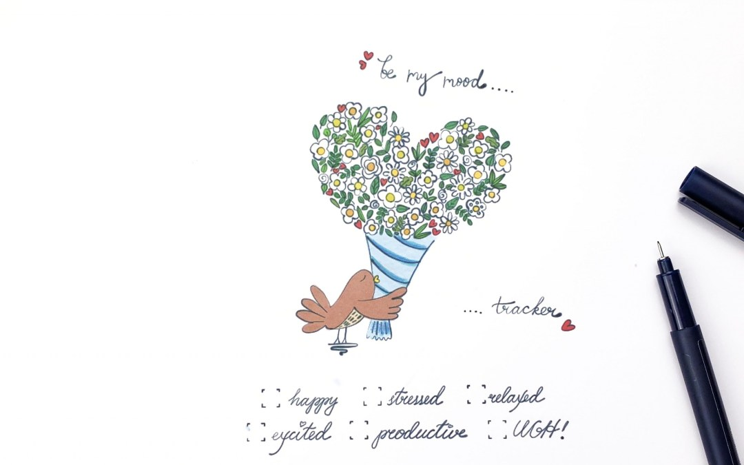 FREE PRINTABLE – Lovely Bird Mood Tracker