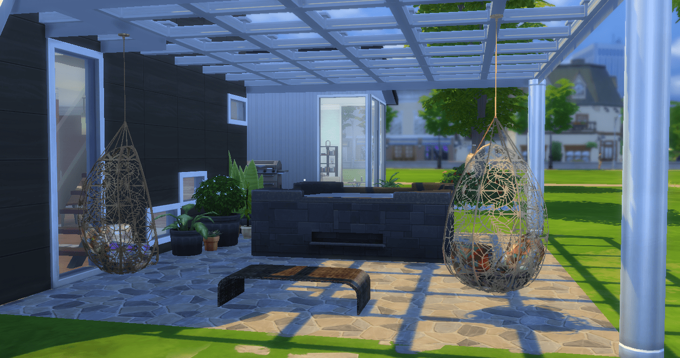 hanging chair the sims 4 desk glides joiewilder s blog page 9 outside on patio can enjoy lounging in chairs or have a dip pool