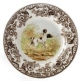 Spode Woodland china dogs