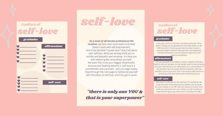 self love worksheet