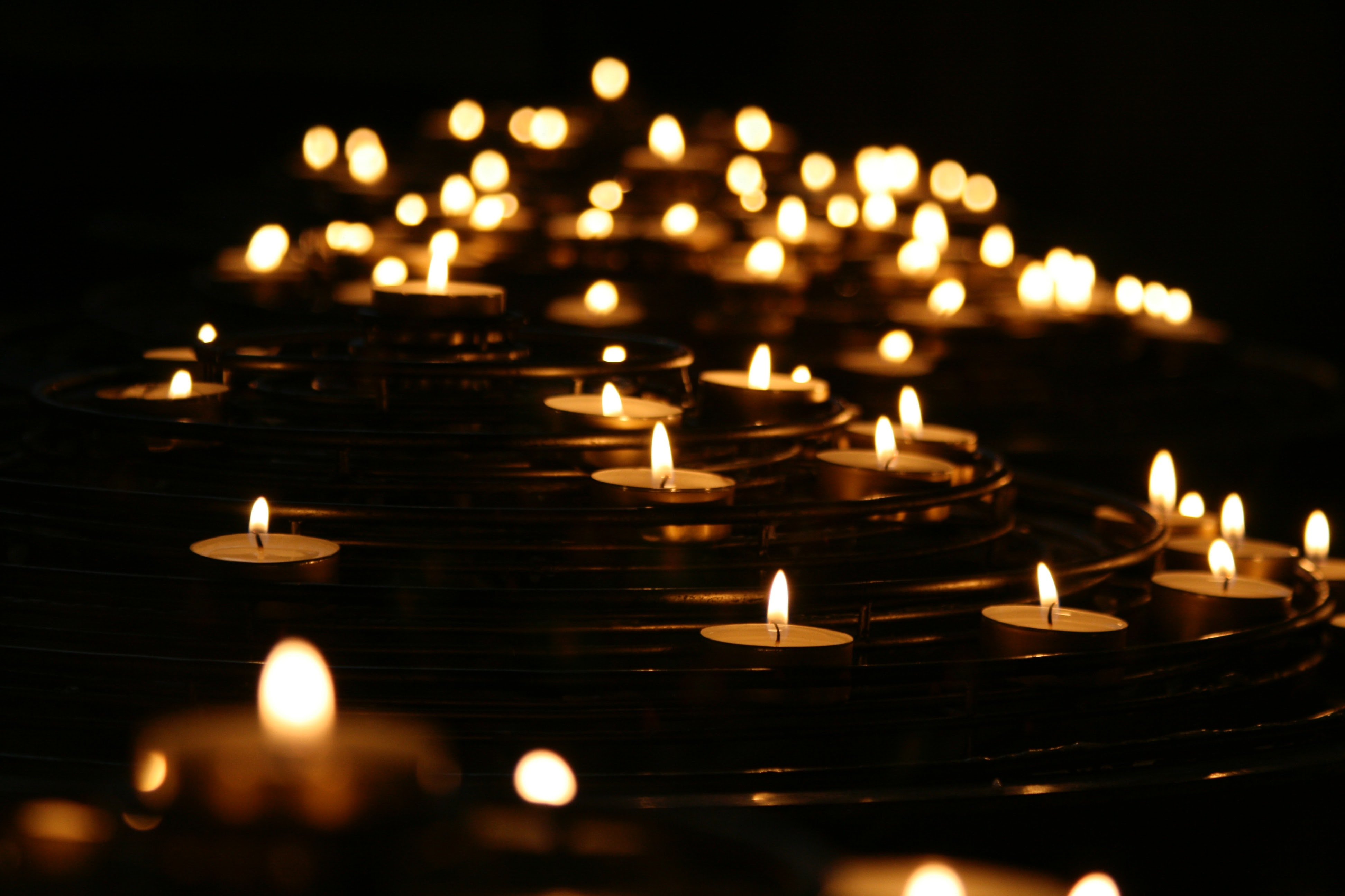 how to plan a candlelight vigil step