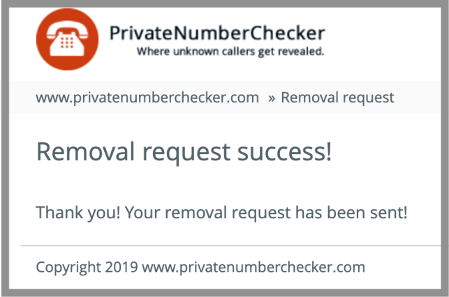 private number checker removal private number checker opt out privatenumberchecker