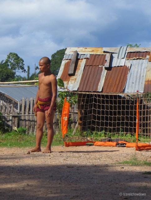 Monk in goal