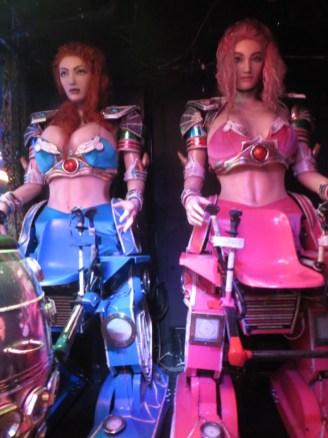 Giant lady robots