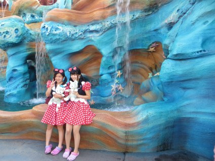 Two Minnie's in Atlantis