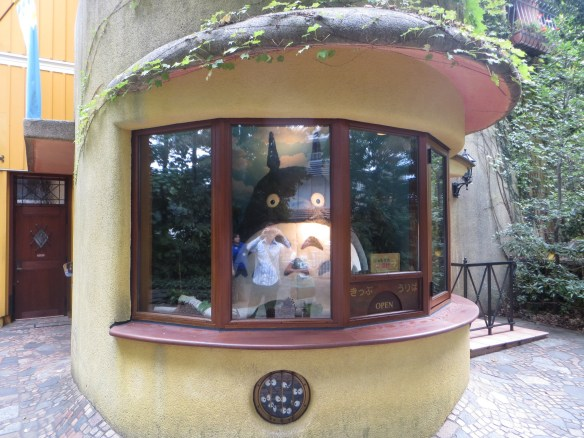 Totoro ticket booth