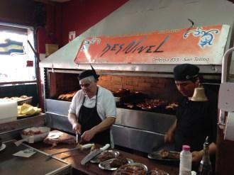 Preparing the meats