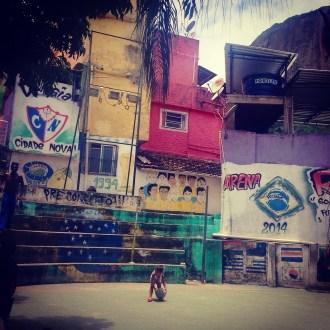 Arena for football and capoeira