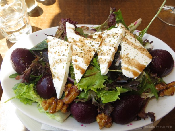 Greek food at Manly beach