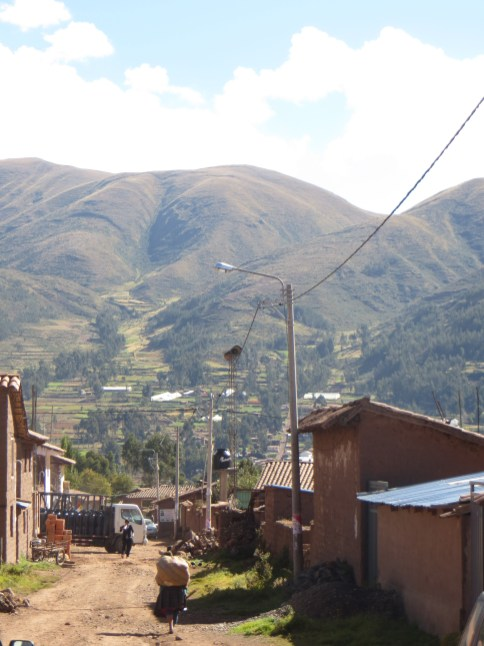 Small village in the sacred valley