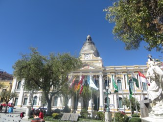 Bolivian Congress Building