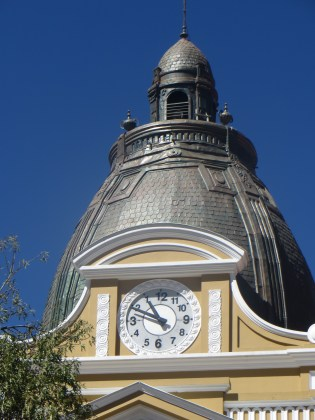 Notice anything different about the clock face?