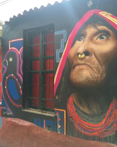 Street art in La Candalaria