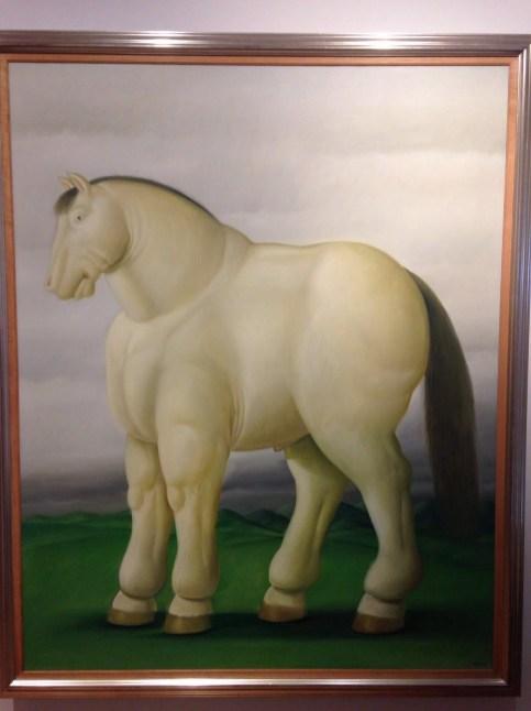 Botero horse