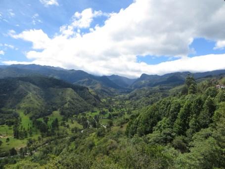 Lush green valleys