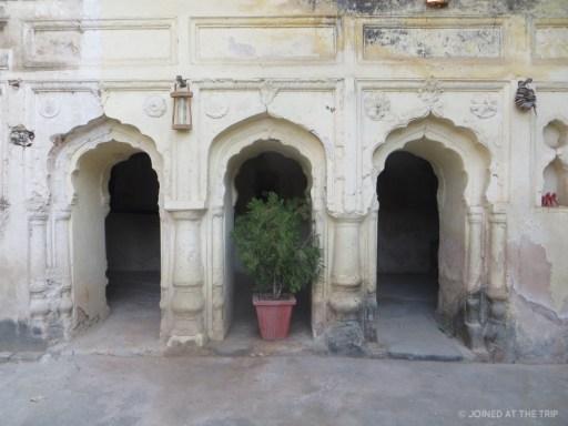 Hindu archways