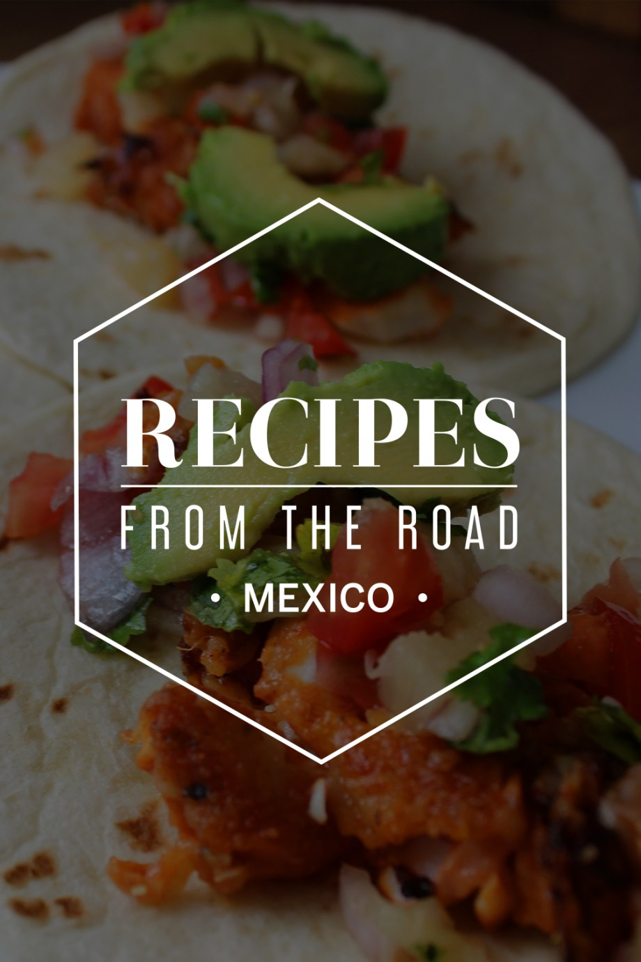 Tacos are everywhere in Mexico, from street stands to restaurants – they're a quick snack as well as a full meal. Fish tacos are generally deep fried in batter, so we combined our recipe with the marinade for tacos al pastor and shallow fried the fish to make it a little(!) healthier.