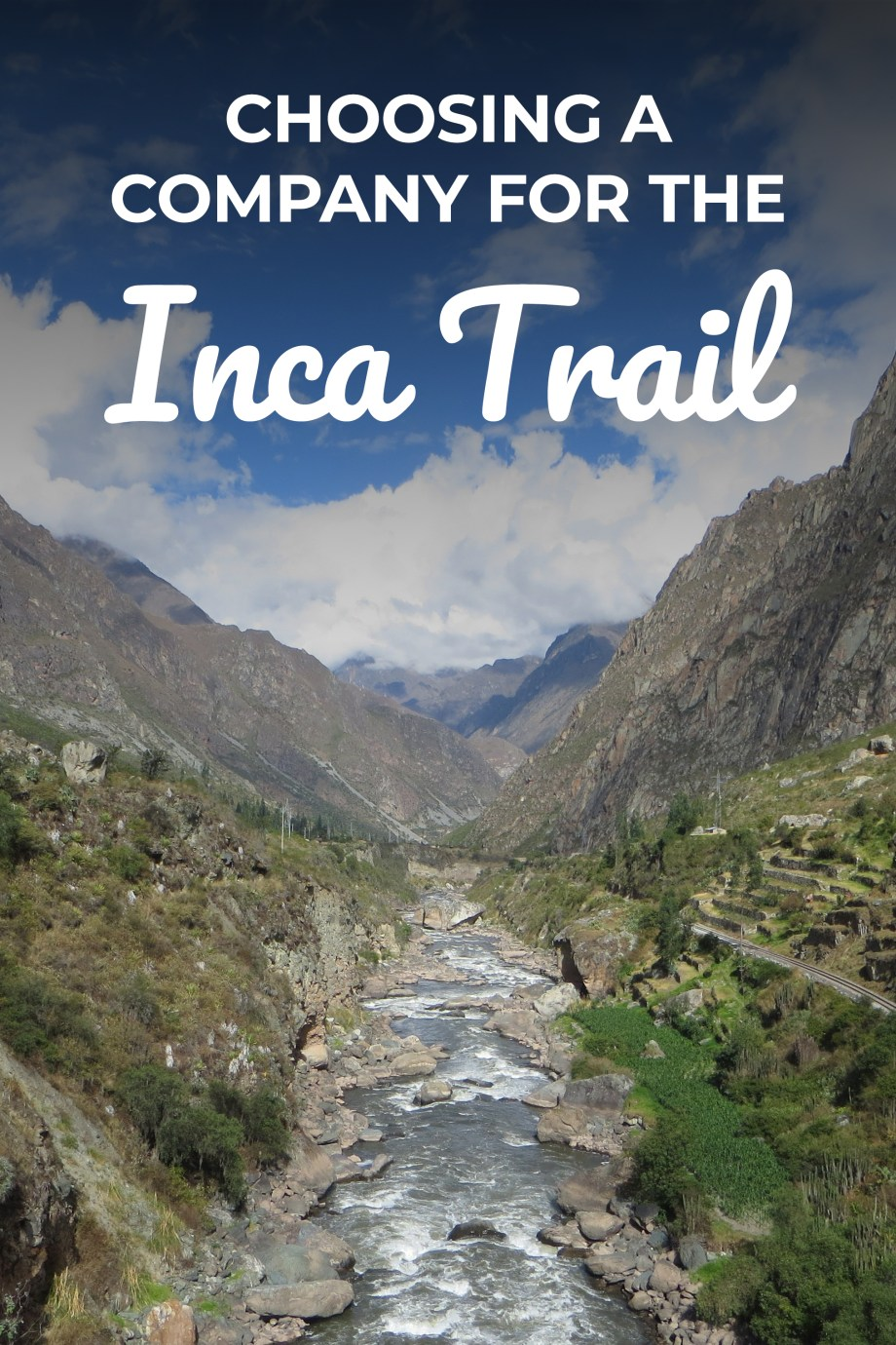 A once in a lifetime trip, walking the original Inca pathways to the 550 year old citadel of Machu Picchu. There are hundreds of companies offering Inca Trail treks and it's difficult to know which one to choose. These are the things to watch out for when researching your trek.