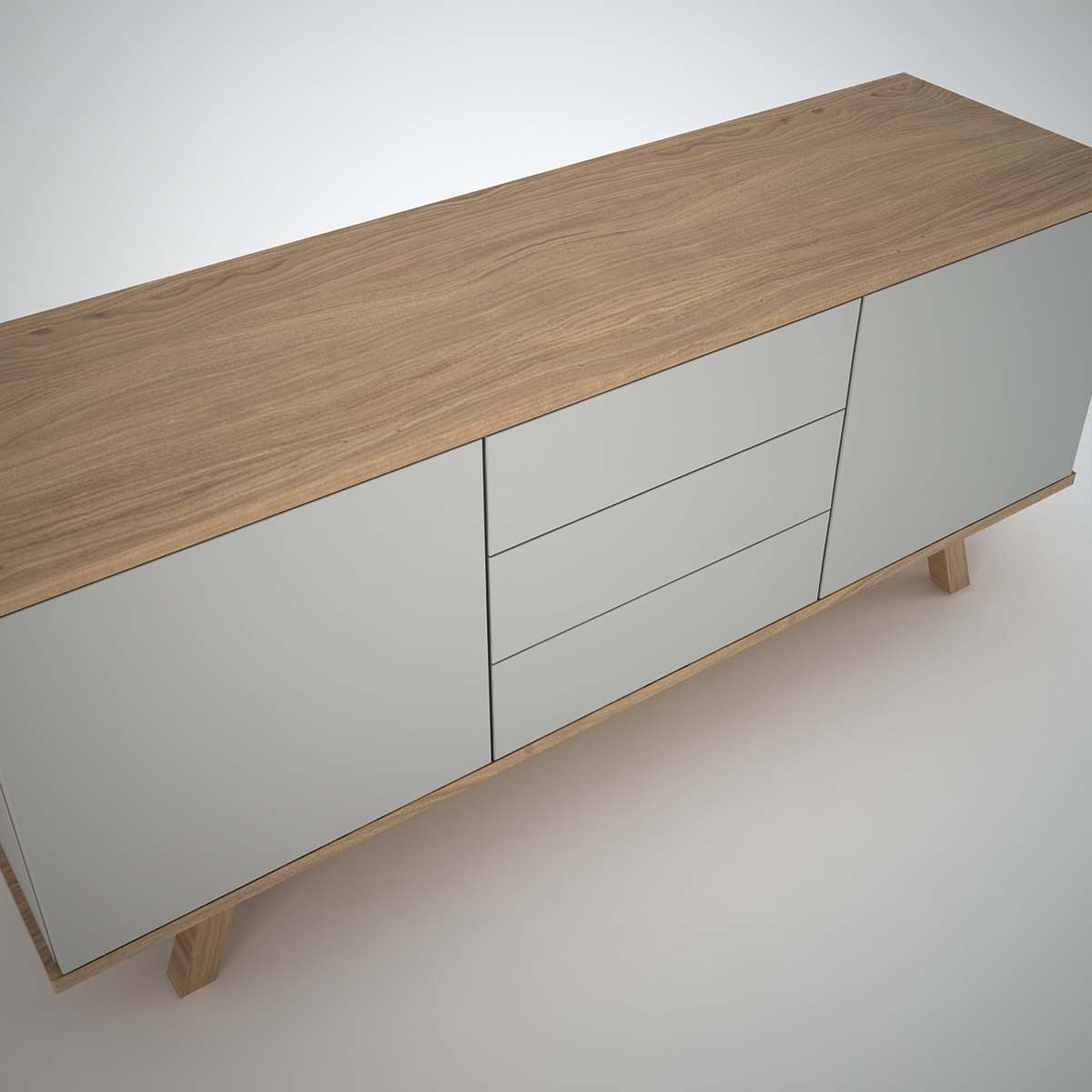 Sideboard Modern Ottawa Sideboard (2+3) Clay - Join Furniture