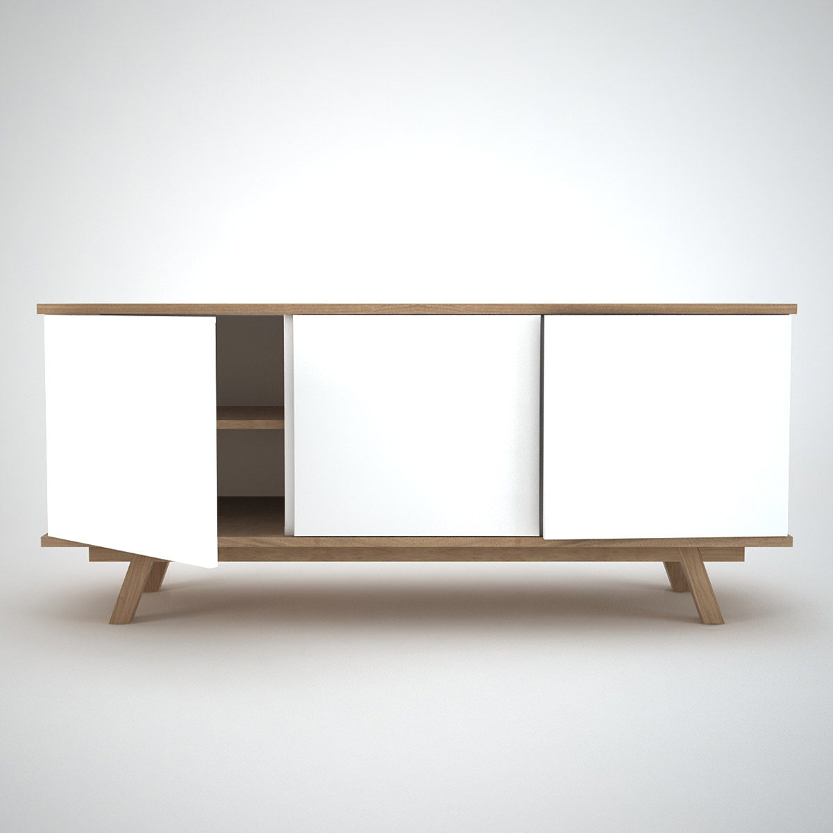Sideboard Modern Ottawa Sideboard (3) White - Join Furniture