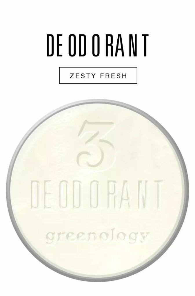natural & zero waste body cares deodorant