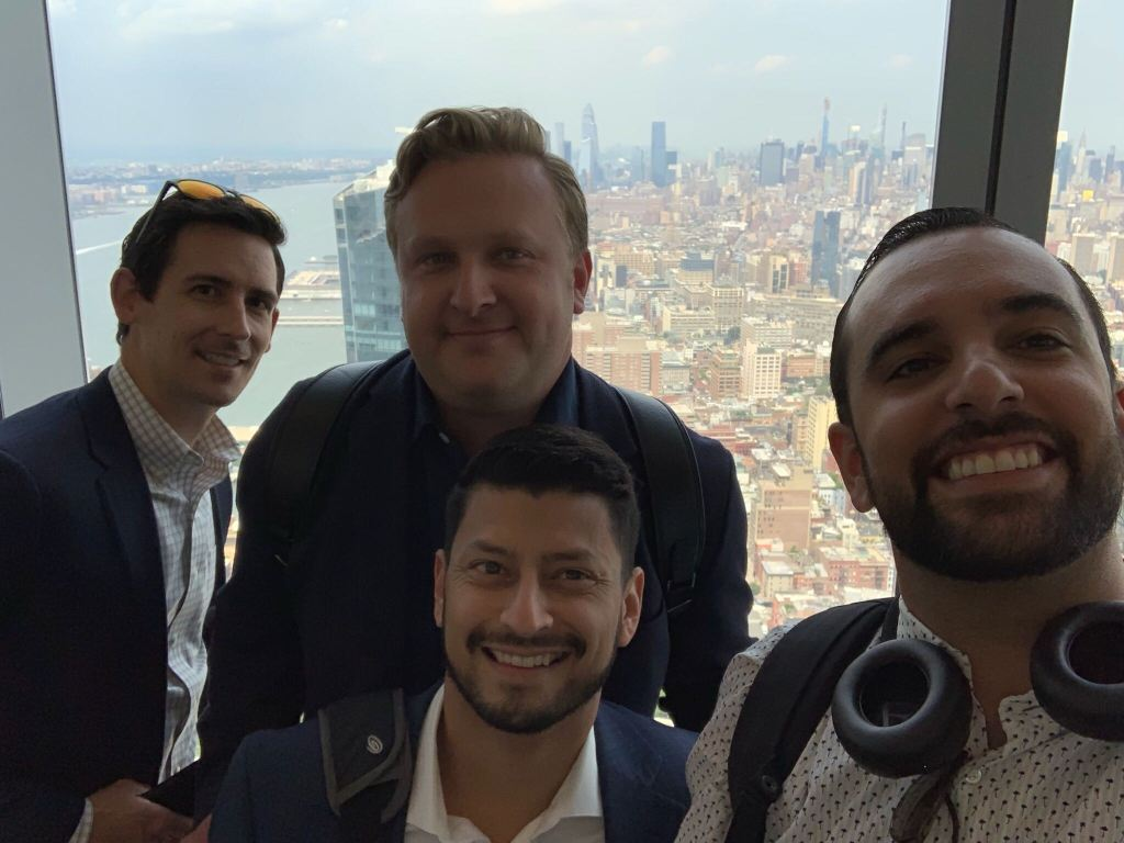 Sales team in NYC