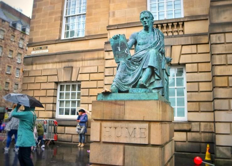 愛丁堡Edinburgh:蘇格蘭哲學家大衛·休謨