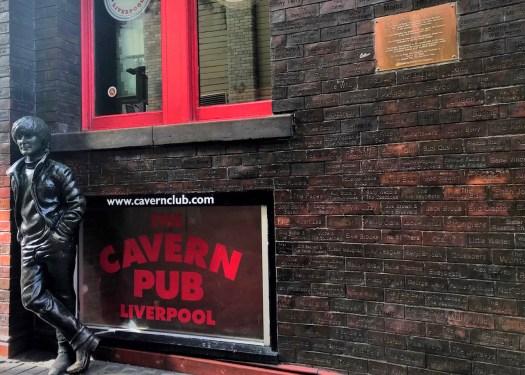 利物浦Liverpool:洞穴俱乐部(The Cavern Club)