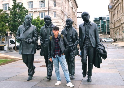 利物浦Liverpool:披頭四銅像(the Beatles statues)