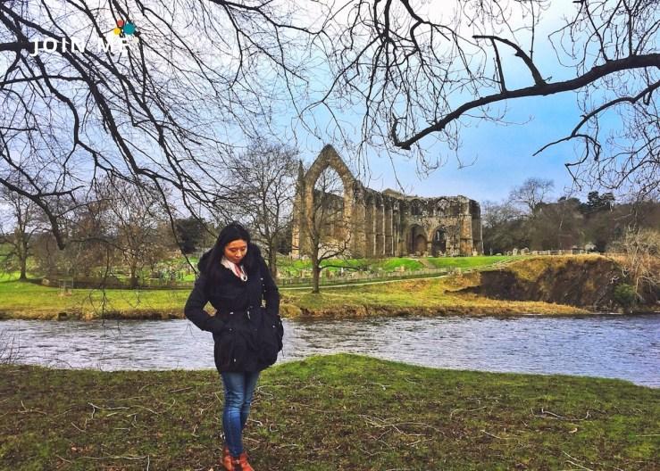 Bolton Abbey優美寧靜。©JOIN ME英國公路旅行