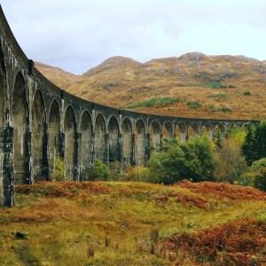行程:英國蘇格蘭高地_格蘭芬南高架橋(Glenfinnan Viaduct)_ Scottish Highlands