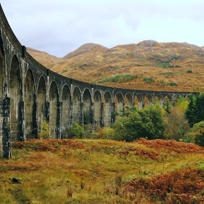 Itinerary: Glenfinnan Viaduct, Scottish Highlands, UK_ Scottish Highlands