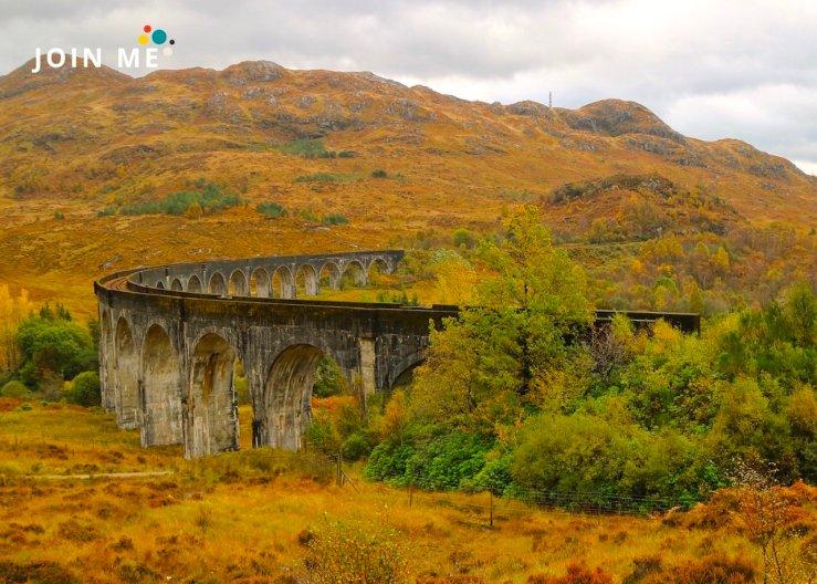 蘇格蘭高地 Scottish Highlands:格蘭芬南高架橋(Glenfinnan